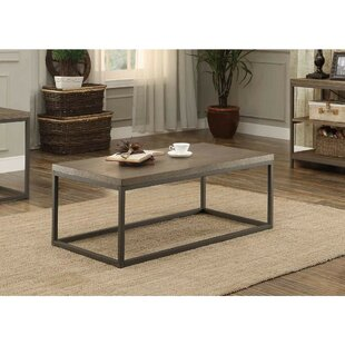 Islip Metal Frame Coffee Table