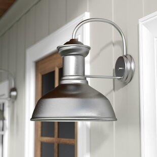 Vallie 1-Light Outdoor Barn Light by Laurel Foundry Modern Farmhouse