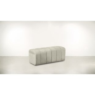 Bloomsbury Market Vonore 27 Rectangle Floral Standard Ottoman Instock Now