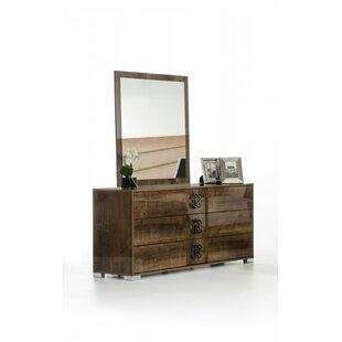 Orren Ellis Fruge 3 Drawer Standard Dresser