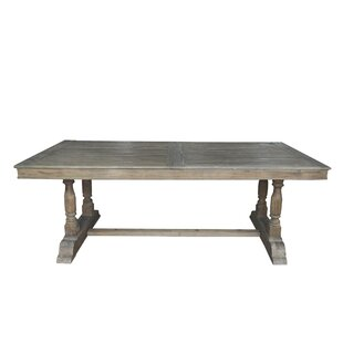 Llewellyn Dining Table by 17 Stories