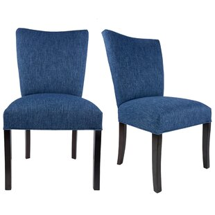 Tatianna Upholstered Contemporary Parsons Chair (Set of 2)