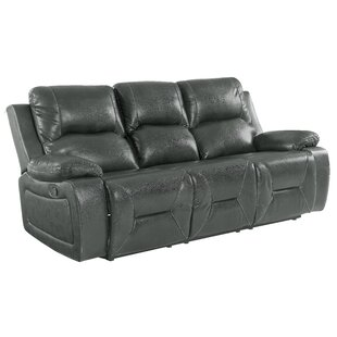 Ullery Reclining 89 W Pillow top Arm Sofa by Winston Porter