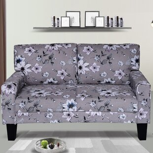 Attaway Modern Upholstery Loveseat by Bungalow Rose