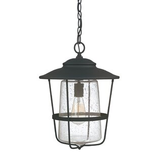 Check Prices Glen 1-Light Outdoor Hanging Lantern By Beachcrest Home