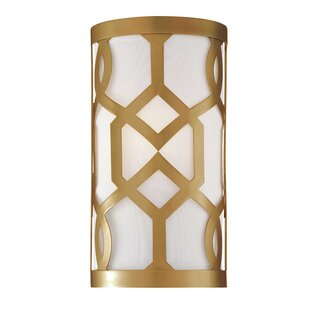 Great Price Beckman 1-Light Wall Sconce By Rosdorf Park