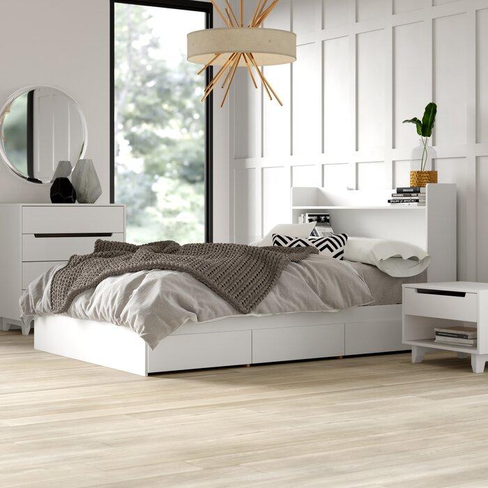 Massie Platform 3 Piece Bedroom Set