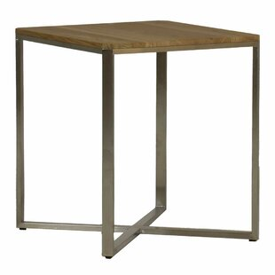Bradley Stainless Steel Side Table