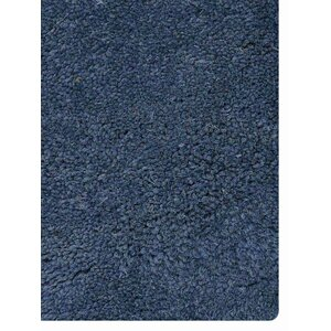 Ash Hill Contemporary Hand-Tufted Wool Blue/Beige Area Rug