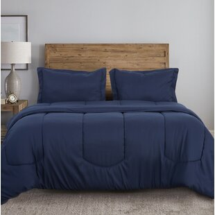 Astorga Solid Microfiber Comforter Set