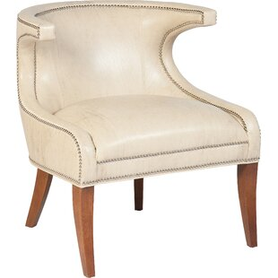 Elegant Transitional Accent Wingback Chair