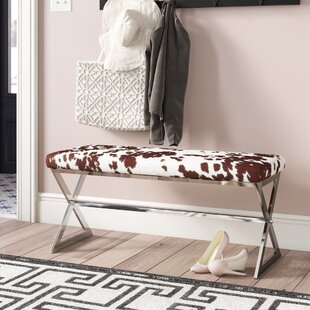 Arvid Metal Bench by Willa Arlo Interiors