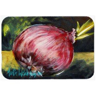 Vegetables - Onion One-Yun Glass Cutting Board ByCaroline's Treasures