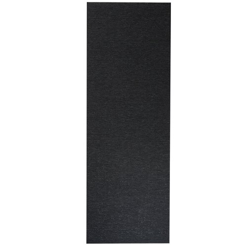 Partain Woven Black Rug Brayden Studio Rug size: Runner 100