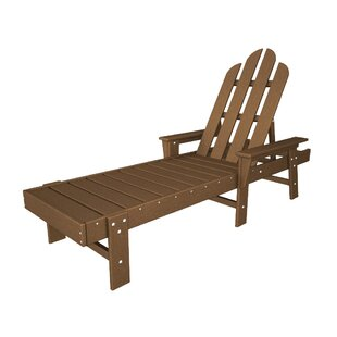Long Island Reclining Chaise Lounge by POLYWOOD®