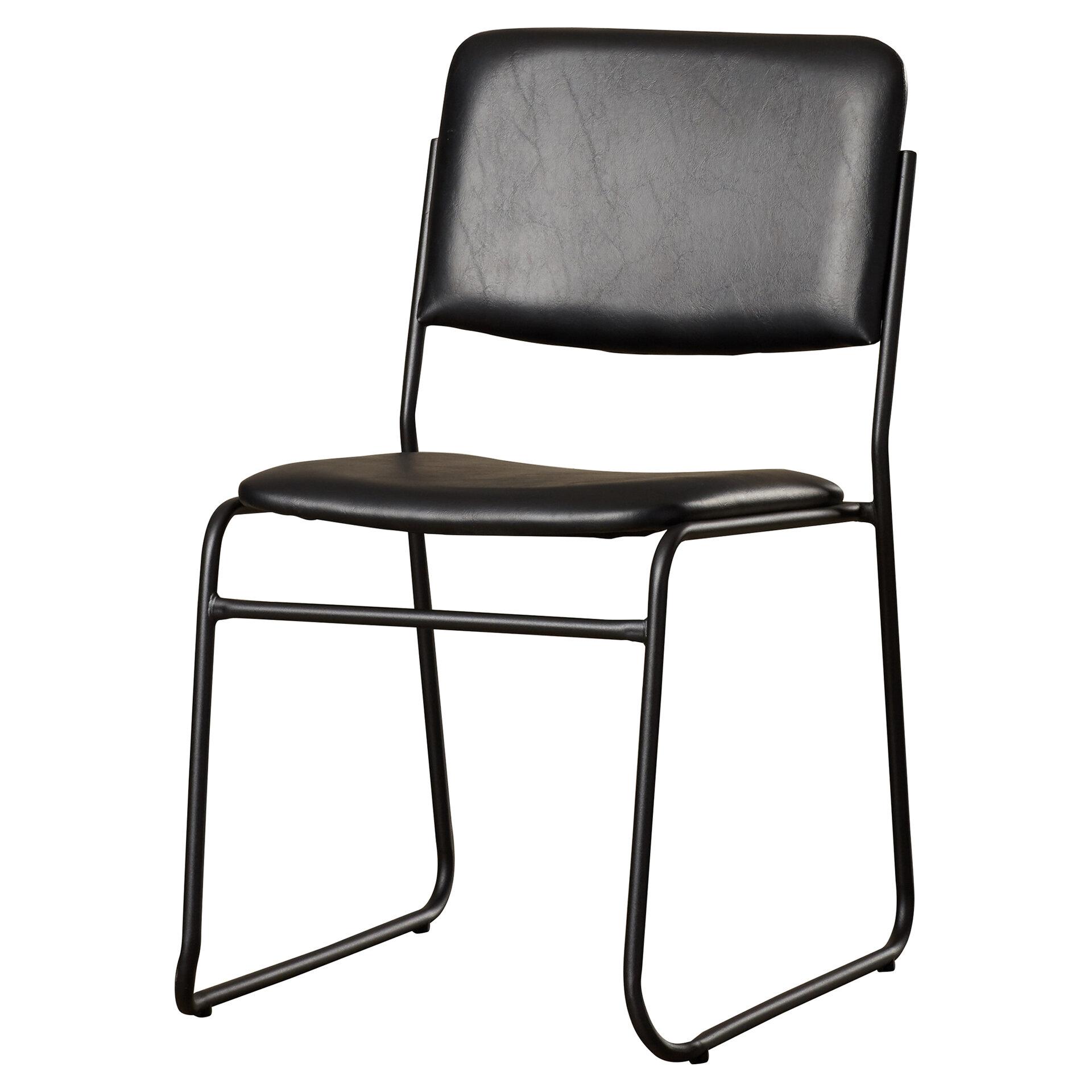 Macarthur Guest Chair With Metal Frame Reviews Allmodern