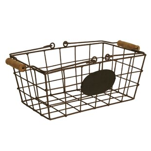 Decorative Storage Metal Basket