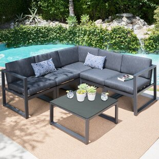 Ivy Bronx Dimatteo 6 Piece Sectional Set with Cushions