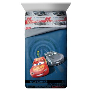 Disney/Pixar Cars 3 Movie Editorial Reversible Comforter