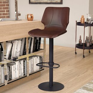 Oklahoma Adjustable Height Swivel Bar Stool Trent Austin Design