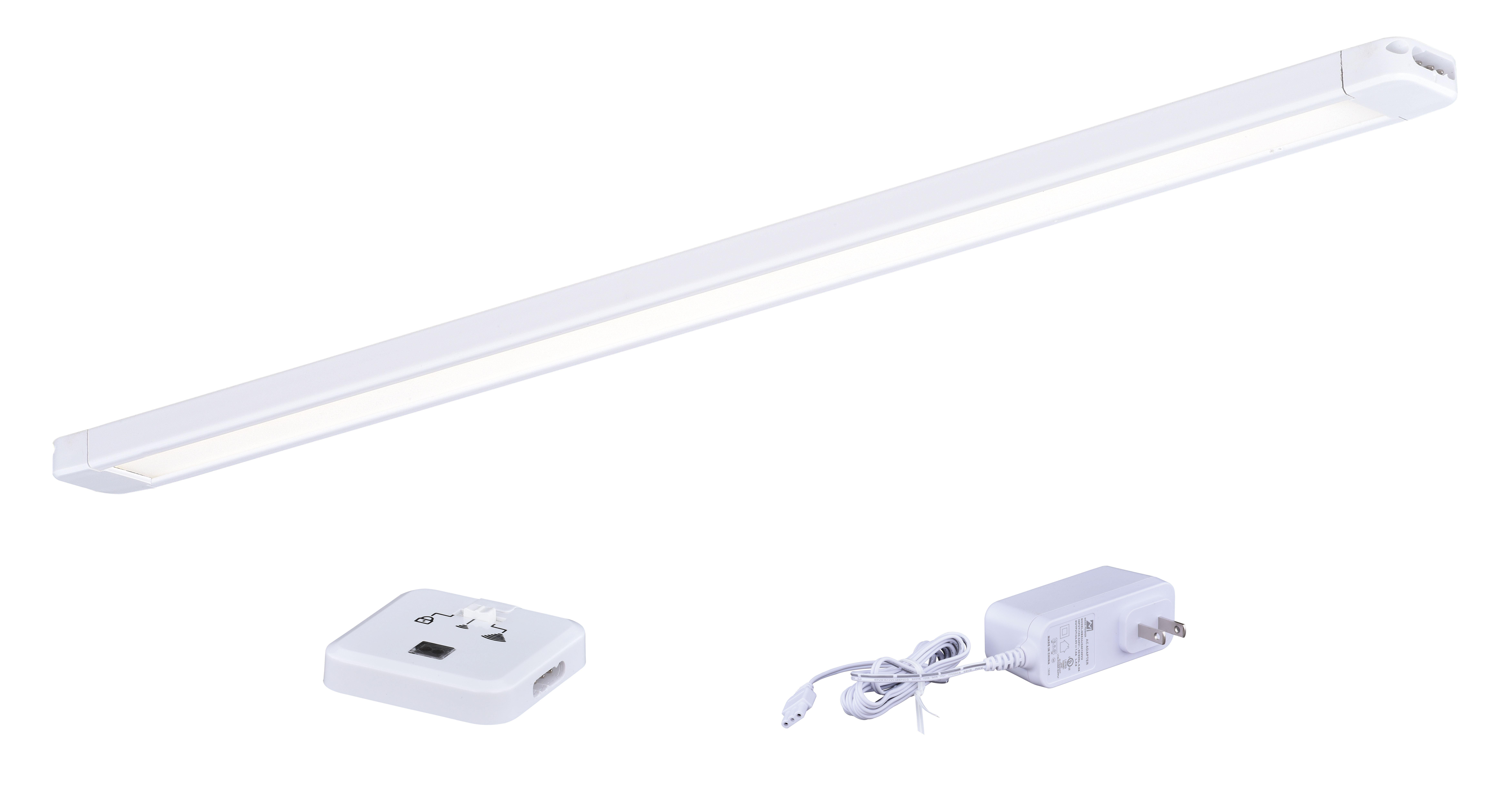 vaxcel 16 instalux led slim under cabinet strip light wayfair rh wayfair com