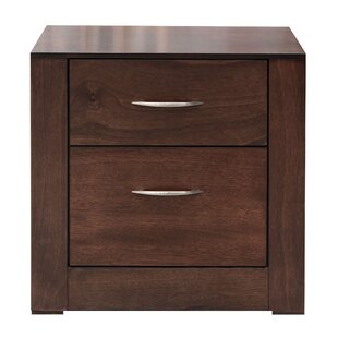 Glendon 2 Drawer Nightstand