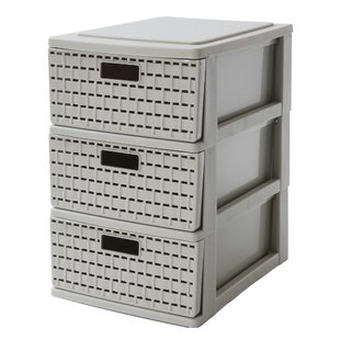 Country 3 Drawer Vertical Filing Cabinet By Rotho