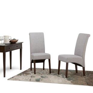 Alcott Hill Agnon Deluxe Upholstered Dining Chair (Set of 2)