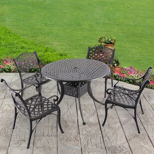 Coates 5 Piece Dining Set by Fleur De Lis..