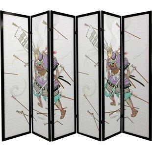 72 X 84 Samurai Shoji 6 Panel Room Divider By Oriental Furniture