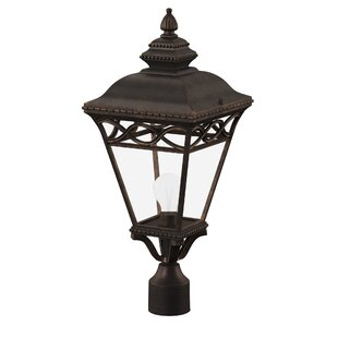 Creighton Outdoor 1-Light Lantern Head by Three Posts