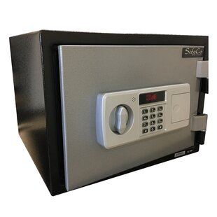 SafeCo Fireproof Home Security Safe with Electronic Lock