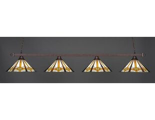 Red Barrel Studio Beideman 4-Light Billiard Pendant