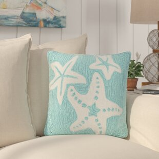 Torino Starfish Indoor/Outdoor Throw Pillow