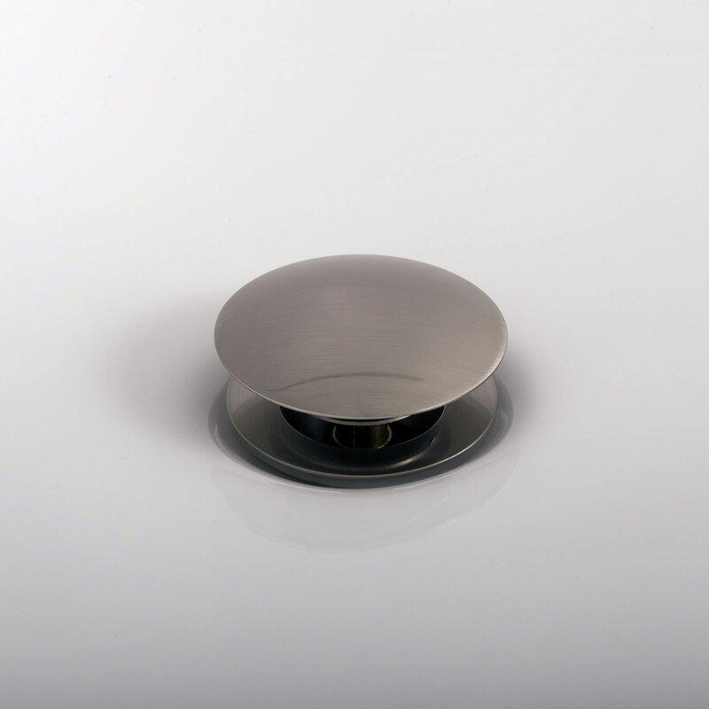 Dax Round Vanity Pop Up Bathroom Sink Drain With Overflow