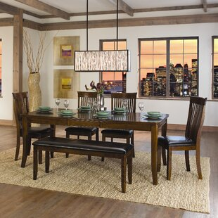 Alita 6 Piece Dining Set by Woodhaven Hill