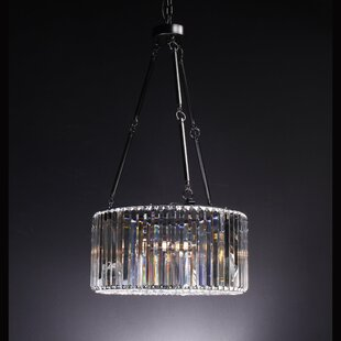 Constance 4-Light Crystal Chandelier by M..