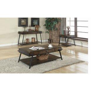 Bencomo 2 Piece Coffee Table Set