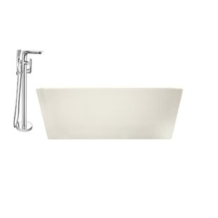 Freestanding Soaking Bathtub in  59.1 H x 29.5 W x 22.8 D