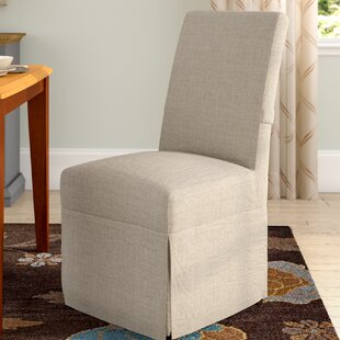 Red Barrel Studio Benton Parsons Upholstered Dining Chair (Set of 2)