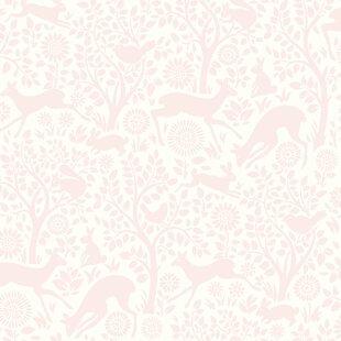 Hide And Seek 33 X 20 5 Anahi Forest Fauna Wallpaper Roll