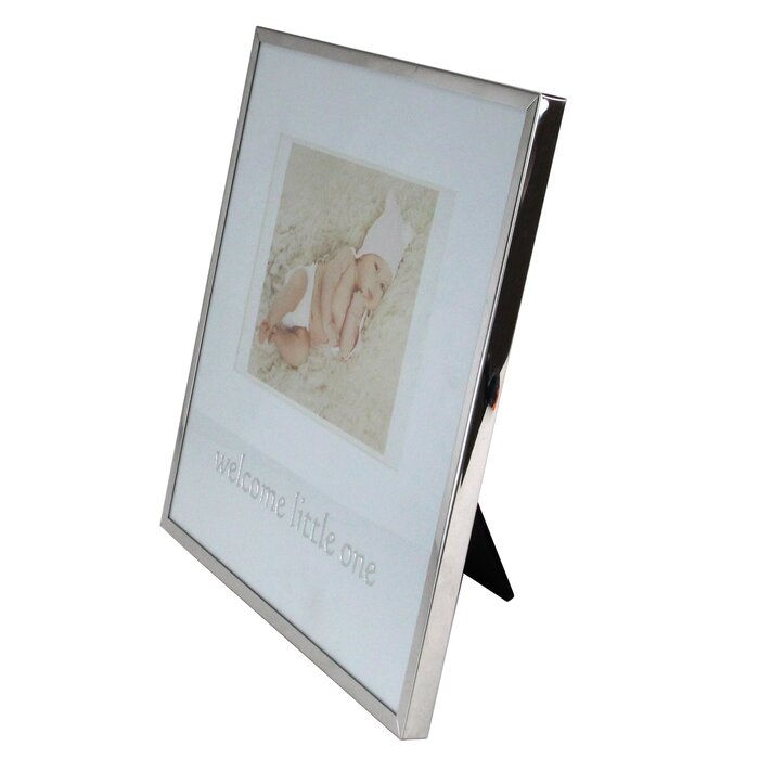 Darice All Things You/™ Bright Silver Scroll Picture Frame 8 x 10 inches