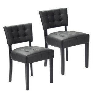 Tematin Upholstered Dining Chair (Set of 2) Winston Porter