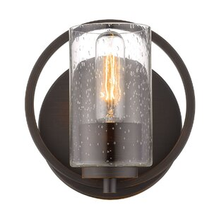 Lorelai 1-Light Armed Sconce by Wrought Studio