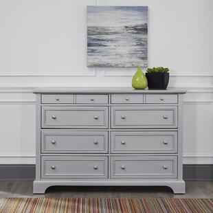 Harriet Bee Roxane 8 Drawer Double Dresser