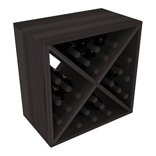 Karnes Redwood X-Cube 24 Bottle Tabletop ..