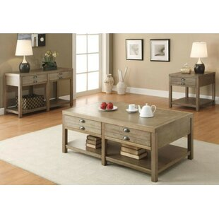Wightman 3 Piece Coffee Table Set