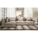 Pleasant Extra Deep Seat Sectional Wayfair Pdpeps Interior Chair Design Pdpepsorg