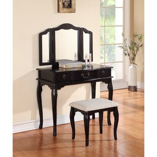 Darby Home Co Avel Vanity Set with Mirror