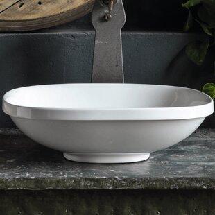 WS Bath Collections Wild Ceramic Ceramic Square Vessel Bathroom Sink